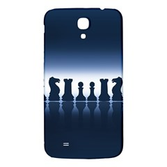 Chess Pieces Samsung Galaxy Mega I9200 Hardshell Back Case by Valentinaart