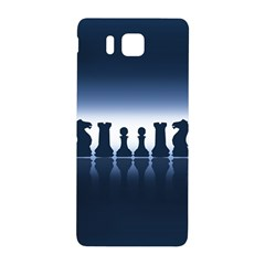 Chess Pieces Samsung Galaxy Alpha Hardshell Back Case by Valentinaart