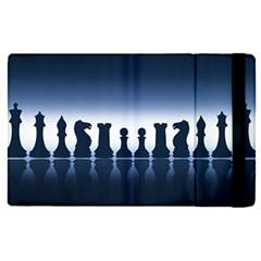 Chess Pieces Apple Ipad Pro 12 9   Flip Case by Valentinaart