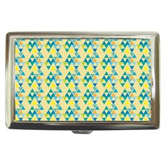 Colorful Triangle Pattern Cigarette Money Cases by berwies