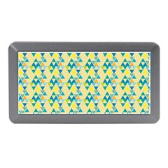 Colorful Triangle Pattern Memory Card Reader (mini) by berwies
