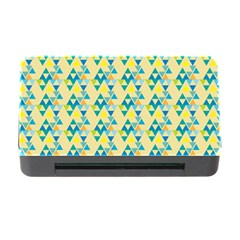 Colorful Triangle Pattern Memory Card Reader With Cf by berwies