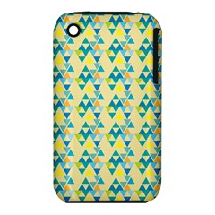 Colorful Triangle Pattern Iphone 3s/3gs by berwies