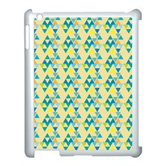 Colorful Triangle Pattern Apple Ipad 3/4 Case (white) by berwies