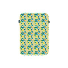 Colorful Triangle Pattern Apple Ipad Mini Protective Soft Cases by berwies