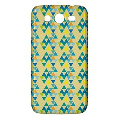 Colorful Triangle Pattern Samsung Galaxy Mega 5 8 I9152 Hardshell Case  by berwies