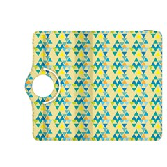 Colorful Triangle Pattern Kindle Fire Hdx 8 9  Flip 360 Case by berwies