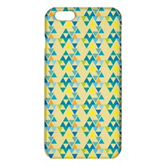 Colorful Triangle Pattern Iphone 6 Plus/6s Plus Tpu Case by berwies