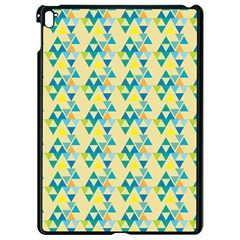 Colorful Triangle Pattern Apple Ipad Pro 9 7   Black Seamless Case by berwies