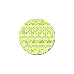 Simple Tribal Pattern Golf Ball Marker (4 Pack) by berwies