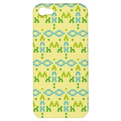Simple Tribal Pattern Apple Iphone 5 Hardshell Case by berwies