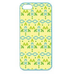 Simple Tribal Pattern Apple Seamless Iphone 5 Case (color) by berwies
