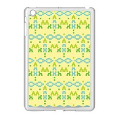 Simple Tribal Pattern Apple Ipad Mini Case (white) by berwies