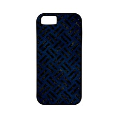 Woven2 Black Marble & Blue Grunge (r) Apple Iphone 5 Classic Hardshell Case (pc+silicone) by trendistuff