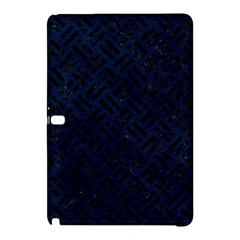 Woven2 Black Marble & Blue Grunge (r) Samsung Galaxy Tab Pro 10 1 Hardshell Case by trendistuff