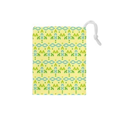 Simple Tribal Pattern Drawstring Pouches (small)  by berwies
