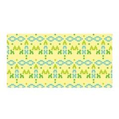 Simple Tribal Pattern Satin Wrap by berwies