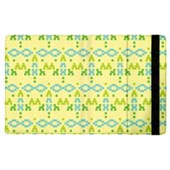 Simple Tribal Pattern Apple Ipad Pro 9 7   Flip Case by berwies