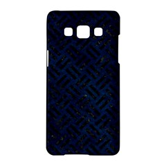 Woven2 Black Marble & Blue Grunge (r) Samsung Galaxy A5 Hardshell Case  by trendistuff