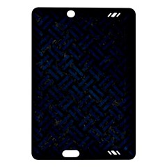 Woven2 Black Marble & Blue Grunge Amazon Kindle Fire Hd (2013) Hardshell Case by trendistuff