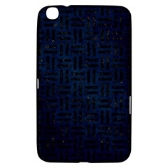 Woven1 Black Marble & Blue Grunge (r) Samsung Galaxy Tab 3 (8 ) T3100 Hardshell Case  by trendistuff