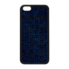 Woven1 Black Marble & Blue Grunge (r) Apple Iphone 5c Seamless Case (black) by trendistuff