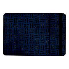 Woven1 Black Marble & Blue Grunge (r) Samsung Galaxy Tab Pro 10 1  Flip Case by trendistuff