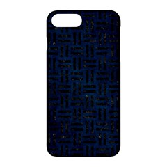 Woven1 Black Marble & Blue Grunge (r) Apple Iphone 7 Plus Hardshell Case by trendistuff
