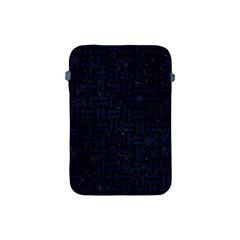 Woven1 Black Marble & Blue Grunge Apple Ipad Mini Protective Soft Case by trendistuff