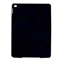 Woven1 Black Marble & Blue Grunge Apple Ipad Air 2 Hardshell Case by trendistuff