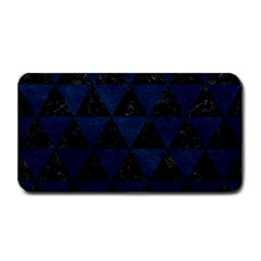 Triangle3 Black Marble & Blue Grunge Medium Bar Mat by trendistuff