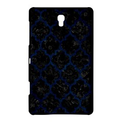 Tile1 Black Marble & Blue Grunge Samsung Galaxy Tab S (8 4 ) Hardshell Case  by trendistuff