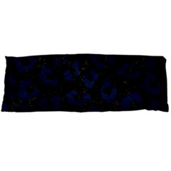 Skin5 Black Marble & Blue Grunge (r) Body Pillow Case Dakimakura (two Sides) by trendistuff