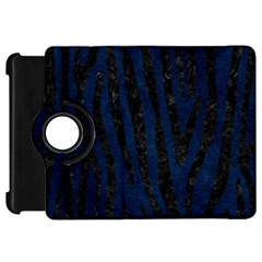 Skin4 Black Marble & Blue Grunge Kindle Fire Hd Flip 360 Case by trendistuff