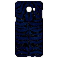 Skin2 Black Marble & Blue Grunge (r) Samsung C9 Pro Hardshell Case  by trendistuff