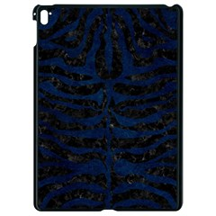 Skin2 Black Marble & Blue Grunge Apple Ipad Pro 9 7   Black Seamless Case by trendistuff