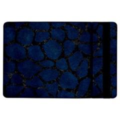 Skin1 Black Marble & Blue Grunge Apple Ipad Air 2 Flip Case by trendistuff