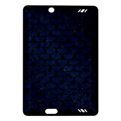 Scales3 Black Marble & Blue Grunge (r) Amazon Kindle Fire Hd (2013) Hardshell Case by trendistuff