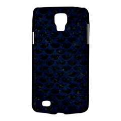 Scales3 Black Marble & Blue Grunge Samsung Galaxy S4 Active (i9295) Hardshell Case by trendistuff