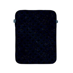 Scales2 Black Marble & Blue Grunge Apple Ipad 2/3/4 Protective Soft Case by trendistuff