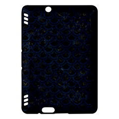Scales2 Black Marble & Blue Grunge Kindle Fire Hdx Hardshell Case by trendistuff