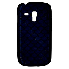 Scales1 Black Marble & Blue Grunge (r) Samsung Galaxy S3 Mini I8190 Hardshell Case by trendistuff