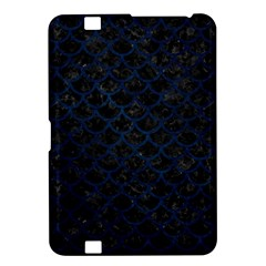 Scales1 Black Marble & Blue Grunge Kindle Fire Hd 8 9  Hardshell Case by trendistuff