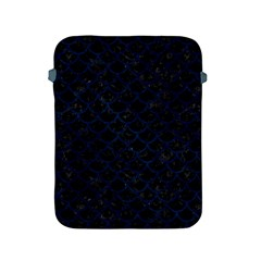 Scales1 Black Marble & Blue Grunge Apple Ipad 2/3/4 Protective Soft Case by trendistuff
