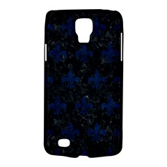 Royal1 Black Marble & Blue Grunge (r) Samsung Galaxy S4 Active (i9295) Hardshell Case by trendistuff