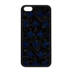 Royal1 Black Marble & Blue Grunge (r) Apple Iphone 5c Seamless Case (black) by trendistuff