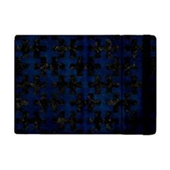 Puzzle1 Black Marble & Blue Grunge Apple Ipad Mini 2 Flip Case by trendistuff