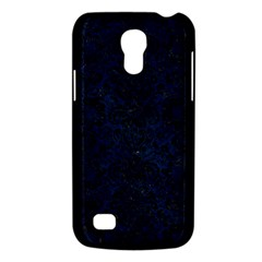 Damask2 Black Marble & Blue Grunge (r) Samsung Galaxy S4 Mini (gt I9190) Hardshell Case  by trendistuff
