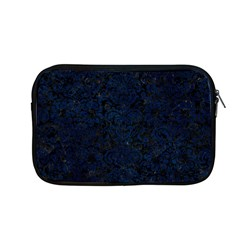 Damask2 Black Marble & Blue Grunge Apple Macbook Pro 13  Zipper Case by trendistuff
