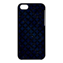 Circles3 Black Marble & Blue Grunge (r) Apple Iphone 5c Hardshell Case by trendistuff